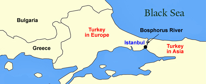 Istanbul Europe Map.Classical Turkey Tour Istanbul Page 2